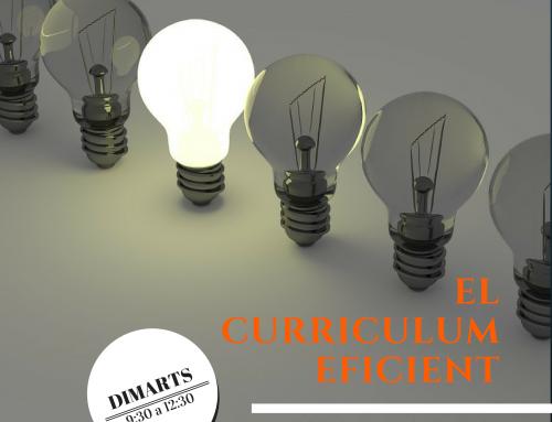Curriculum eficient : Destaca la teva professionalitat