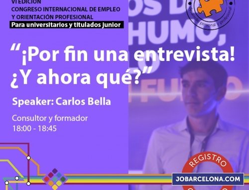 JOBarcelona 19. Congreso internacional de empleo y orientación