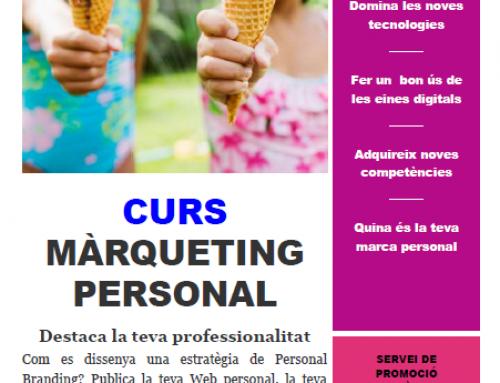 Marketing personal aplicat a la recerca de feina